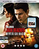 Jack Reacher: never Go Back 4K [Blu-ray] [2016]