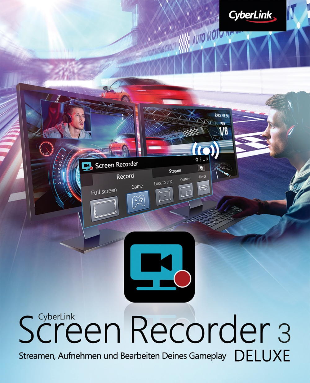 CyberLink Screen Recorder 3 Deluxe [Download]