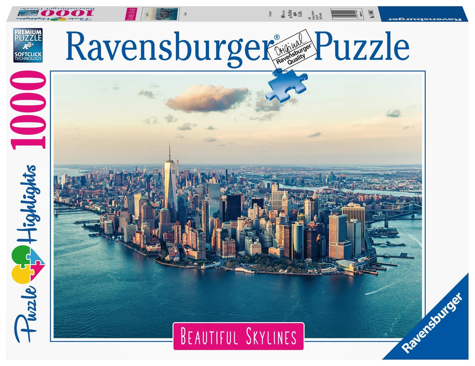 Ravensburger-14086-New-York Ravensburger Puzzle 14086 – New York – 1000 Teile -