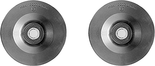 Bosch 2608601046 100mm Rubber Backing Pad for 4-inch Angle Grinders (Black)