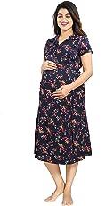 Mamma's Maternity Rayon Printed Maternity Dress