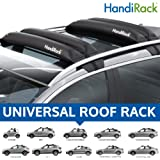 HandiWorld HACK HandiRack Universellt biltakställ; Snabb passform kraftiga takstänger (svart)