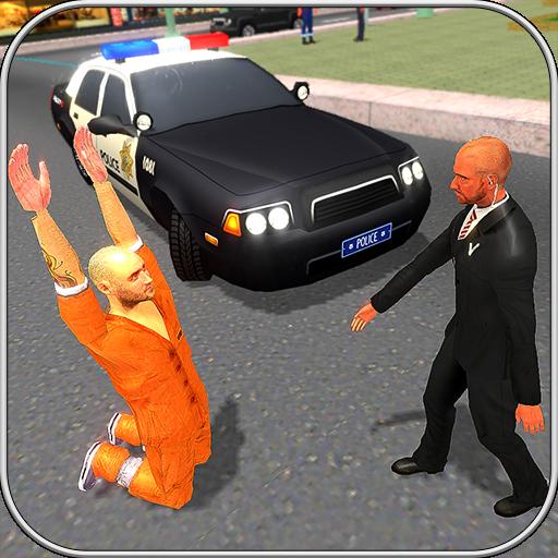 Polizei Auto Räuber Chase Simulator 2017 3D Kostenlos Transformatoren Stadt