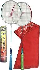 JAYAM STRIKE (2 Racket + 10 Shuttlecock + bag)