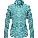 Regatta Professional Womens Thornly Full Zip Quick Drying Marl Fleece Vrouwen Fleece