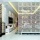 Y-Step Pannello, divisorio, paravento, da appendere, per casa, hotel, ufficio, bar, decorazione, 12 pezzi Pattern a