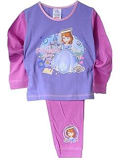 Princess Pyjama Kinder Schlafanzug Overall Strampler Rei/ßverschluss Disney