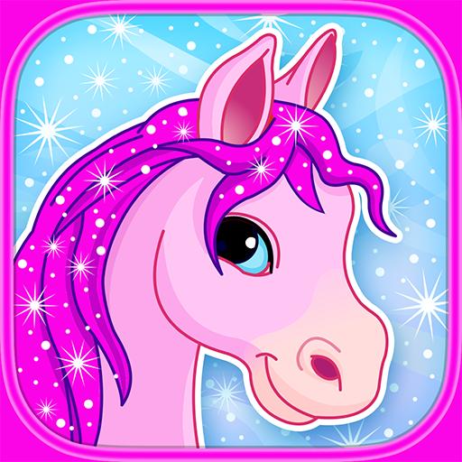 Pony in Candy World : Adventure Arcade Game : - Kostenlose Spiele Süchtig