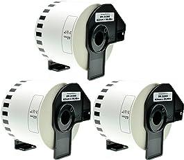 3 Endlos-Etiketten für Brother DK-22205 QL-720 500 560 1060 1050 550 580 650 700 710
