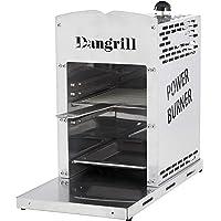 Dangrill 800 Grad Gasgrill, Hochleistungsgrill mit Oberhitze, Grillrost mit Handgriff und Abtropfschale, Keramikbrenner…