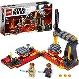 LEGO Star Wars - Duelo en Mustafar, Set de Construcción de la Película Guerra de las Galaxias, con Plataformas Giratorias Des
