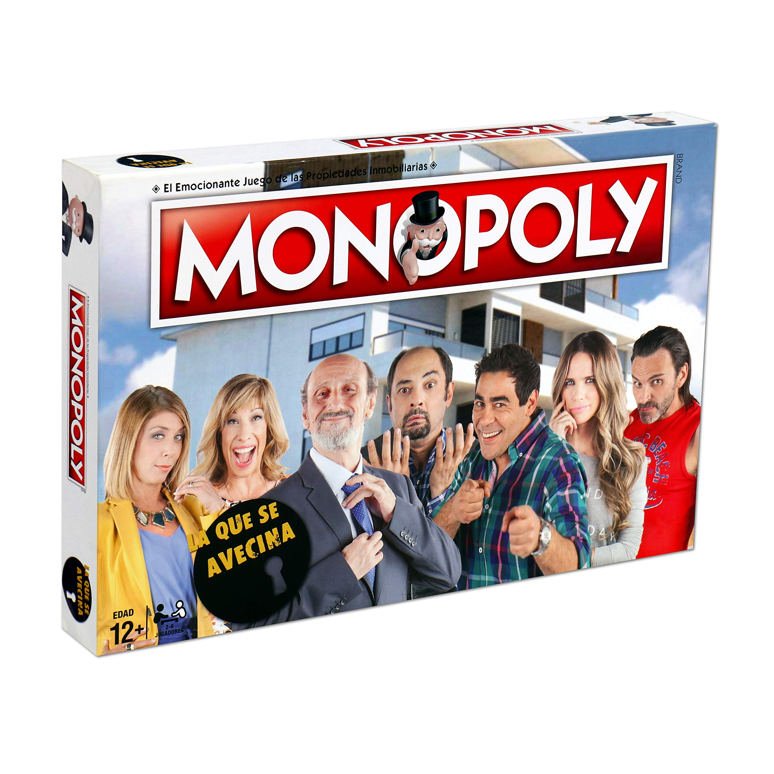 ELEVEN FORCE Monopoly La Que Se Avecina (63454), multicolor, ninguna