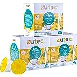 Zutec - Capsules de jus d'ananas - Compatible avec les machines à café Nescafé Dolce Gusto®* - 3 Paquets de 12 capsules - 36
