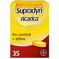 Supradyn Ricarica Integratore Alimentare Multivitaminico e di Minerali con Coenzima Q10 contro Stanchezza Fisica e…