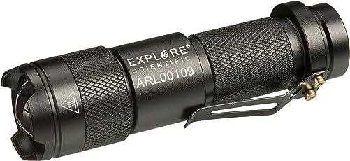 Explore Scientific Astro R-Lite Rotlicht-Taschenlampe mit Mehreren Einstellungen und 360 Grad Signal-Funktion, Ideal Zum Erhalten der Dunkeladaption