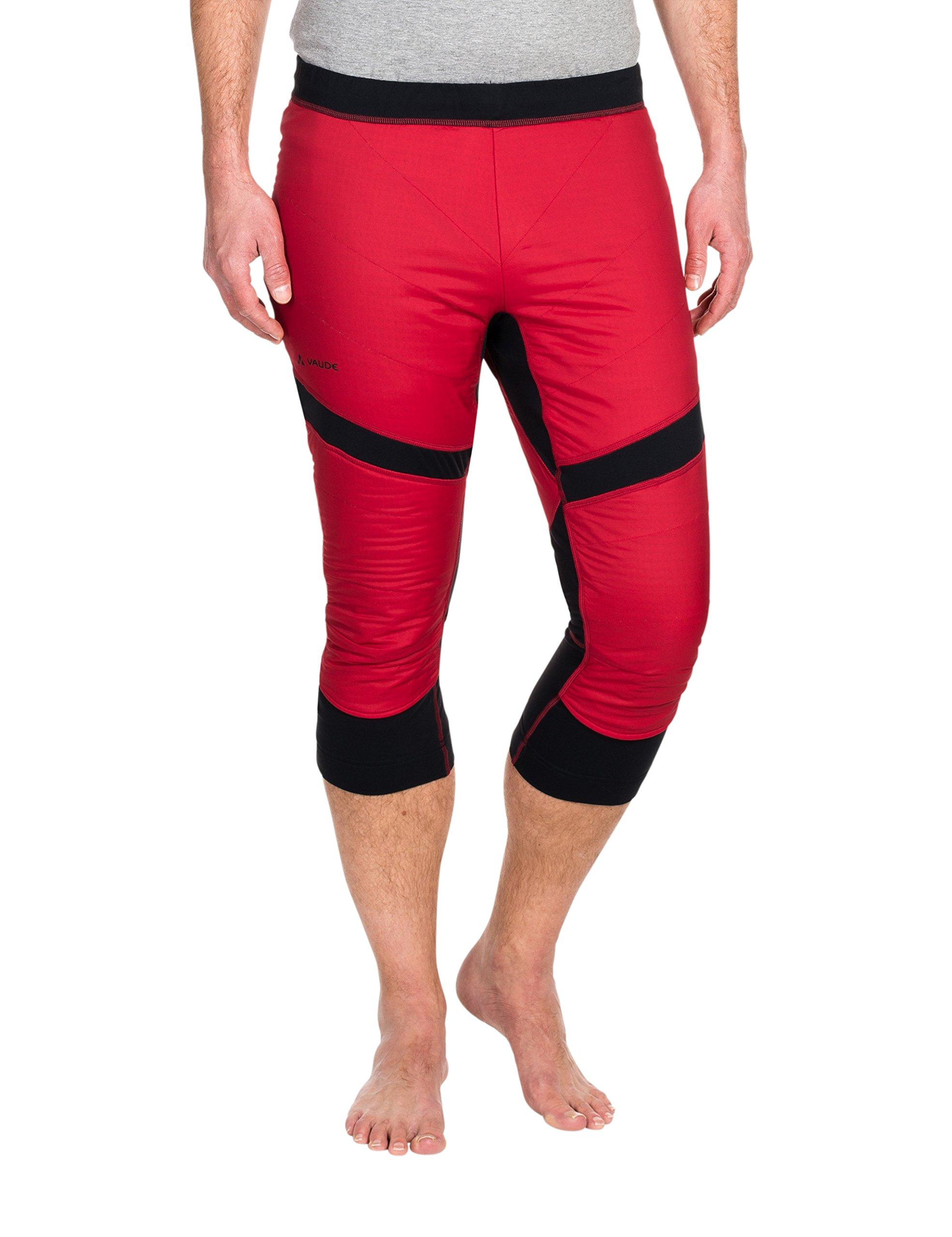 VAUDE Boe Warm Pants–Pantaloni, Uomo, Hose Boe Warm Pants, Rosso indiano, XS