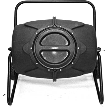 Tierra Garden 9487 90-Percent Recycled Material Composter Tumbler, 50-Gallon