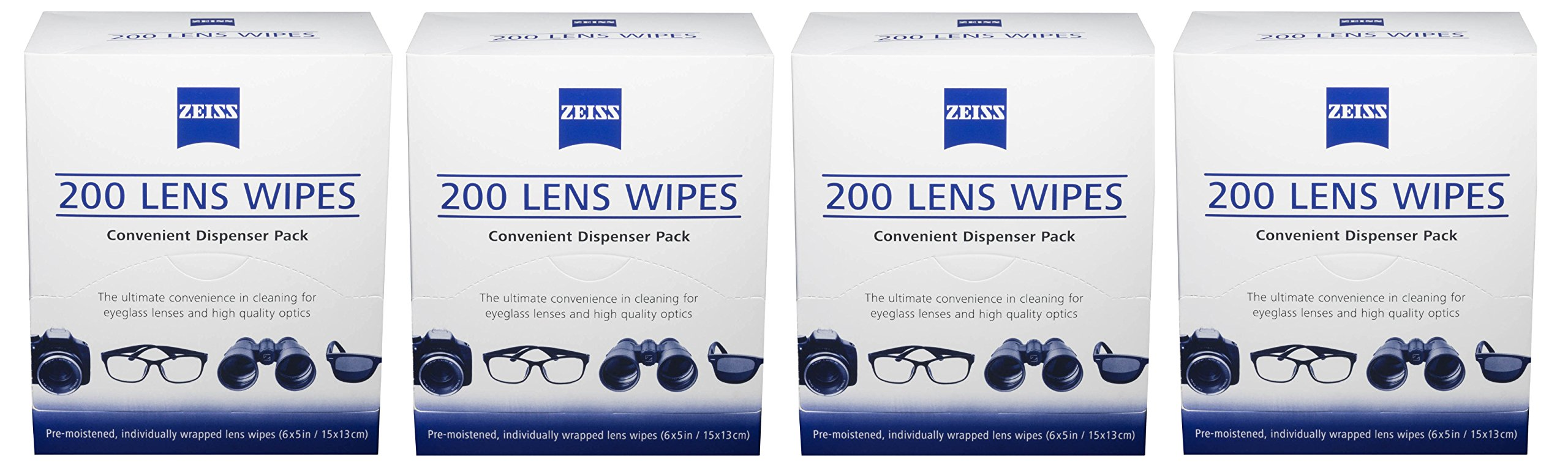 Cleaning Equipment & Kits Zeiss Lens Cleaning Wipes Pre Moist