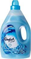 Comfort Fabric Softener Spring Dew, 4 Litre (Twin Pack)