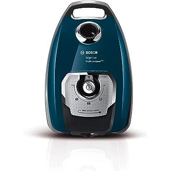 Bosch BGL8508 Aspirapolvere a Carrello con Sacco, 750 W, 74 Decibel, Blu
