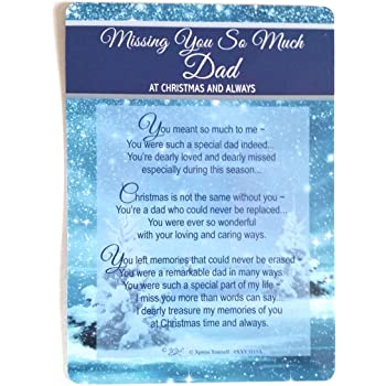 Xpress Yourself In Loving Memory Of A Dear Dad At Christmas
