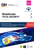 BitDefender Total Security Latest Version (Windows / Mac / Android / iOS) - 3 Devices, 3 Years (Email Delivery in 2…
