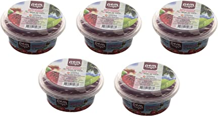 Pom Delight Pomegranate Fruit Pudding with NATA De Coco, 85 Grams (Pack of 5)