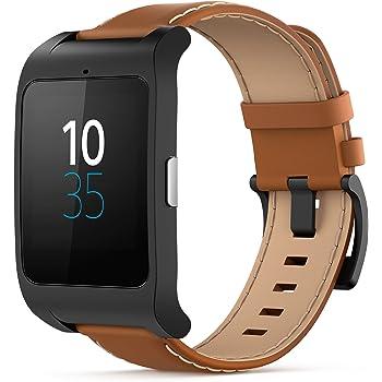 Sony SmartWatch 3 - Reloj para seguimiento de actividad y ejercicio compatible con smartphones Android,