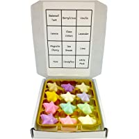 Wax Melts by Twinkle Cottage - Assorted Stars- 12 x Soy Wax Melts - 12 Scents/Frangrances