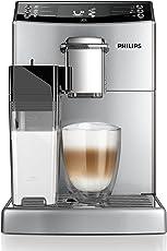 Philips EP4050/10 Kaffeevollautomat (1,8 Liter, CoffeeSwitch, Milchkaraffe, AquaClean) silber