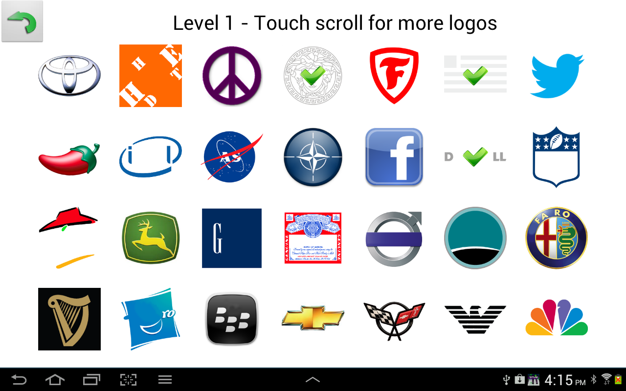 Quiz: Logo Game Level 1 - All Answers - Walkthrough ( By ...