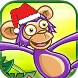 Verrückten Affen Schlacht - Sonderausgabe Weihnachten - Rennen in den Dschungel um Bananen zu Sammeln