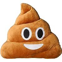 Ducomi® Coussins Emoji Emoticône Smiley et Poo Face 12