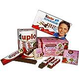 Tanner 0605.6 - Holzspielzeug, Sortiment besetehend aus Ferrero Kinderschokolade, Duplo und Tekanne Lillifee Tee