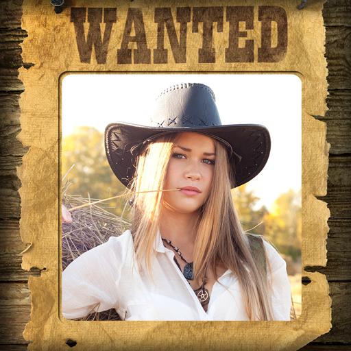 Cowboy Bilderrahmen - Neu Western Cowboy Stiefel