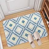 Alfombra de baño, Alfombra Absorbente Antideslizante, alfombra baño antideslizante, Alfombra de baño de Microfibra esponjosa,