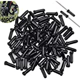 Bike Cable End Caps 50 Pcs Eindkap Voor Fiets Remmen Rem Tips Kabel Uiteinden Van Derailleur Eindkappen Voor Fietskabels Kabe