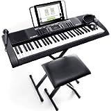 Alesis Melody 61 MKII - 61 Key Music Keyboard / Digital Piano with Built-In Speakers, Headphones, Microphone, Piano…