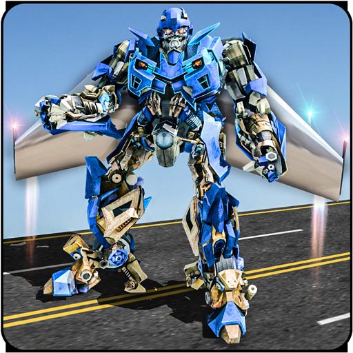 Air Robot Game - Flying Robot Transformation Game