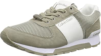 Calvin Klein Dusty Mesh/Washed Nubuck/Smoot, Sneakers Uomo