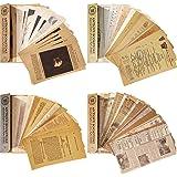 240 Pièces Papiers de Scrapbooking Vintage Papier Matériel Scrapbooking Journalisation Vintage Lettre Décorative Collection R
