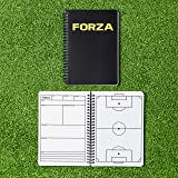 FORZA Football Coaching & Training Notebook | A4/A5 Sizes | 100 Page Tactical Planner