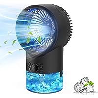 Refroidisseur d'air Portable Climatiseur Mobile, EEIEER 4-en-1 Climatiseur Portable Ventilateur Air Humidificateur…