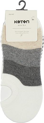 Koton Kadın Çorap, Beyaz, Tek Ebat (Üretici ölçüsü: T) 9YAK81191AA