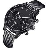 CHEETAH, Coloridos Relojes para Hombre, Unisex, Resistente al Agua, 24 Horas, Reloj de Cuarzo analógico en Modo horario con M