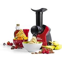 Giles & Posner EK4002VDEEU7 Machine à Desserts Glacés - Prise EU, Machine À Desserts Aux Fruits Surgelés, 250 W, Rapide…