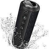 Enceinte Bluetooth Portable Surround Stéréo: SONGLOW 40W Enceinte Basses Puissantes, Étanche IPX7, 12 Heures De Lecture, Blue