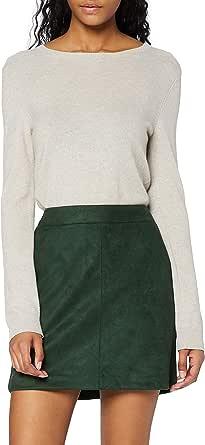 Vero Moda Vmdonnadina Faux Suede Short Skirt Noos Gonna Donna