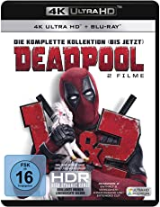 Deadpool 1+2  (3 Blu-rays 4K Ultra HD) (+ 3 Blu-rays 2D)