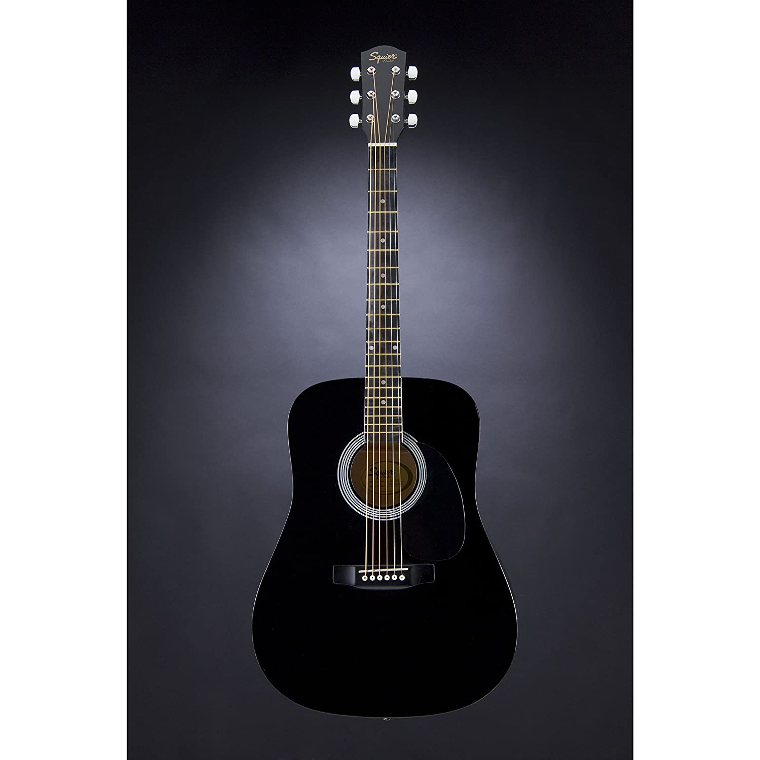 fender squier dreadnought sa 105 acoustic guitar